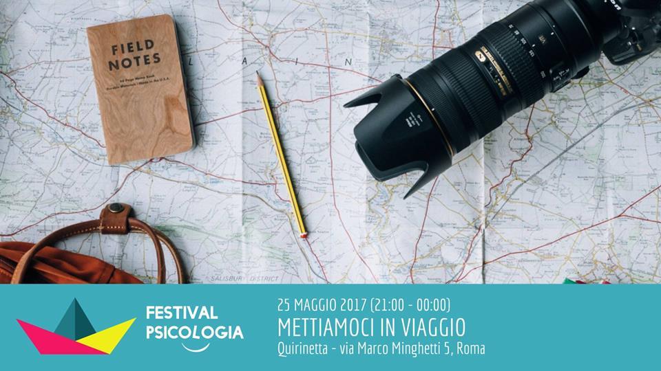 Mettiamoci in viaggio | Festival Psicologia